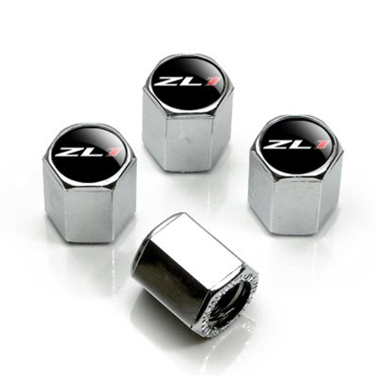 Chevrolet SS Logo Chrome Black /& Red Tire Air Valve Stem Caps Set of 4
