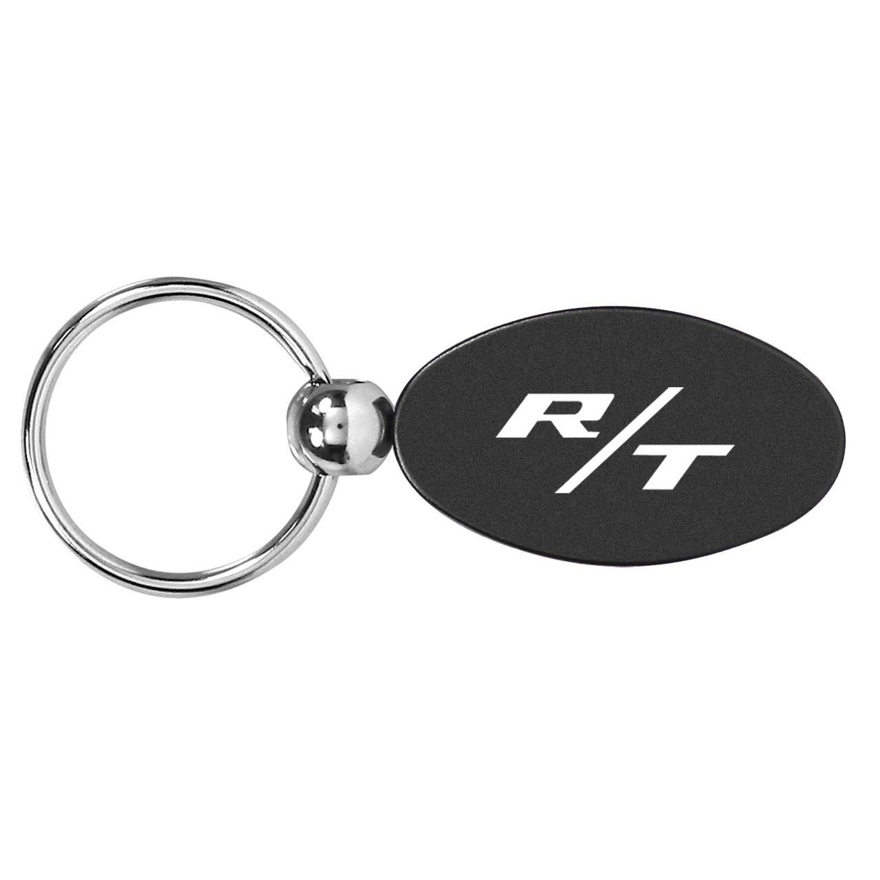 Dodge R//T RT Logo Red Tear Drop Key Chain
