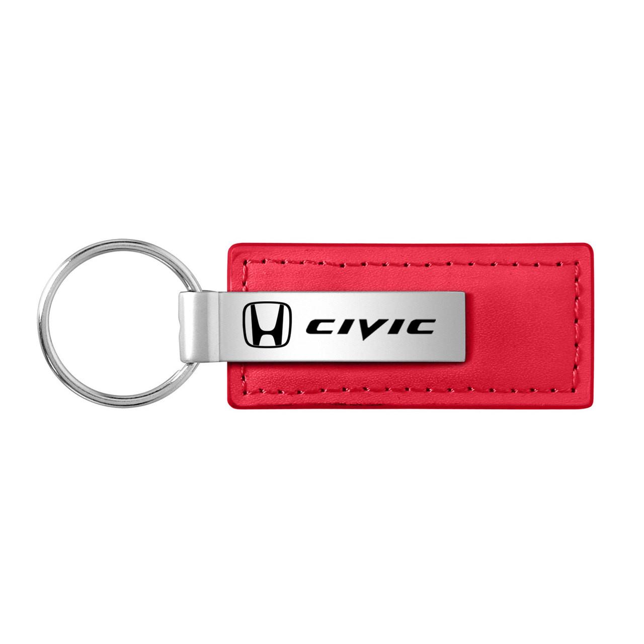 Honda Accord Key Ring Red Spinner Keychain