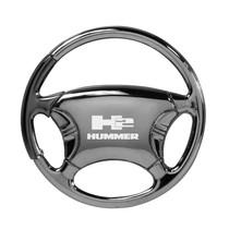 Hummer Key Chain Black Chrome