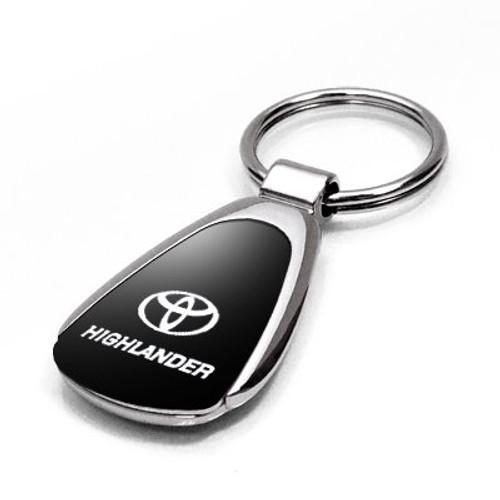Toyota Land Cruiser Black Tear Drop Key Chain