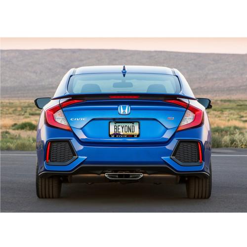USA Made Honda Civic Si Chrome License Plate Frame Engraved High-End Quality