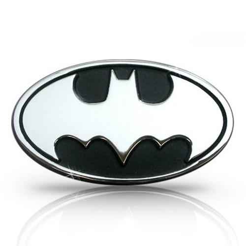 Batman 3D Chrome Metal Auto Emblem, Official Licensed
