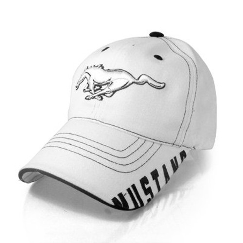 2d16adf8ff4d4 Ford Mustang Bill Edge 3d Pony Baseball Cap - Car Beyond Store