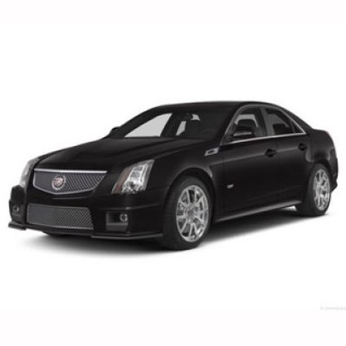 Cadillac CTS Vsport Chrome Metal License Plate Frame