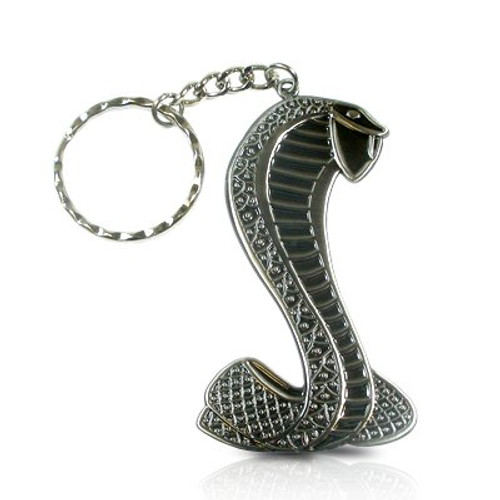Ford Mustang Shelby Cobra Pewter Key Chain