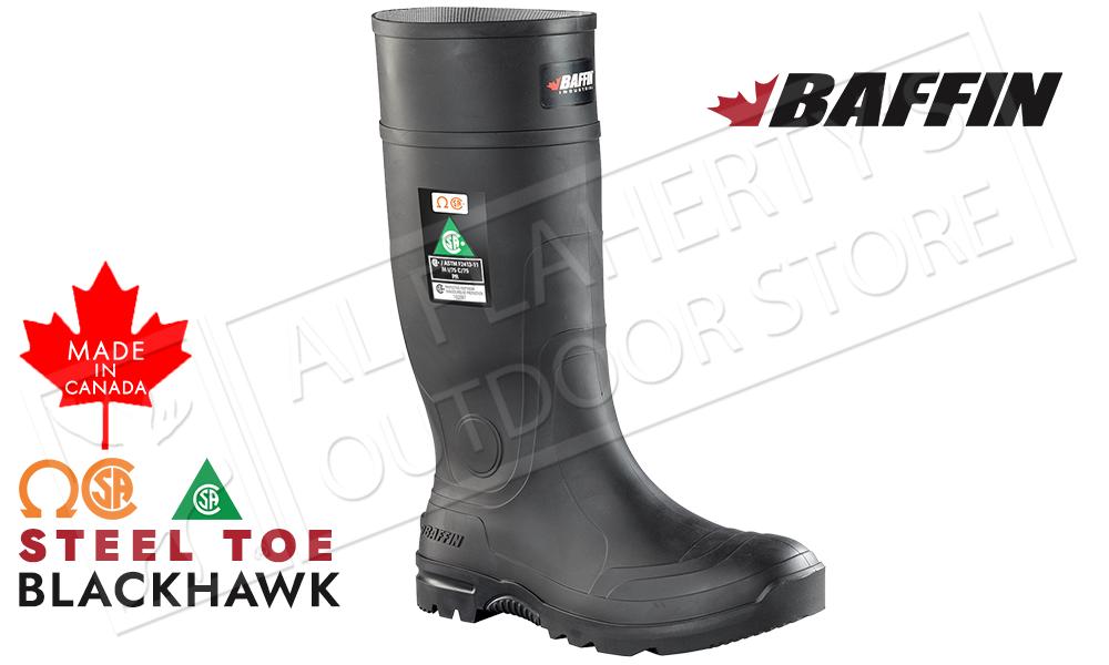 Baffin Blackhawk Safety Toe Rubber Boot #BLICOMP01