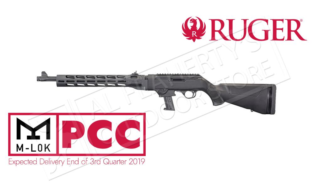 "Ruger PC Carbine Canadian Free Floating M-LOK Handguard Non-Restricted, 9mm 18.6"" Barrel"