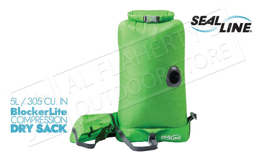 SealLine BlockerLite Compression Dry Sacks with PurgeAir Valve - 5L #10266