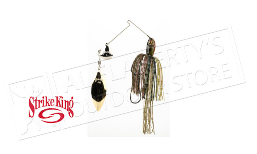 Strike King Premier PLUS SpinnerBaits, 3/8 oz. Various Patterns #PPL38CW