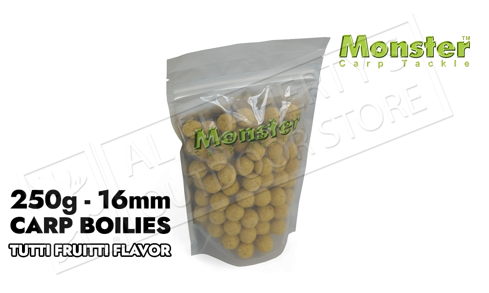 Monster Boilies - Tutti Fruitti 16mm, 250 grams #MCB16M-F
