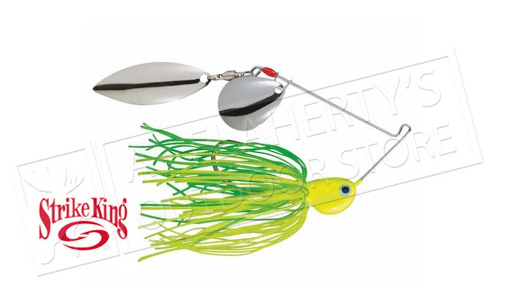 Strike King PotBelly Dual-Blade SpinnerBaits, 3/8 oz. Various Patterns #PB38CW