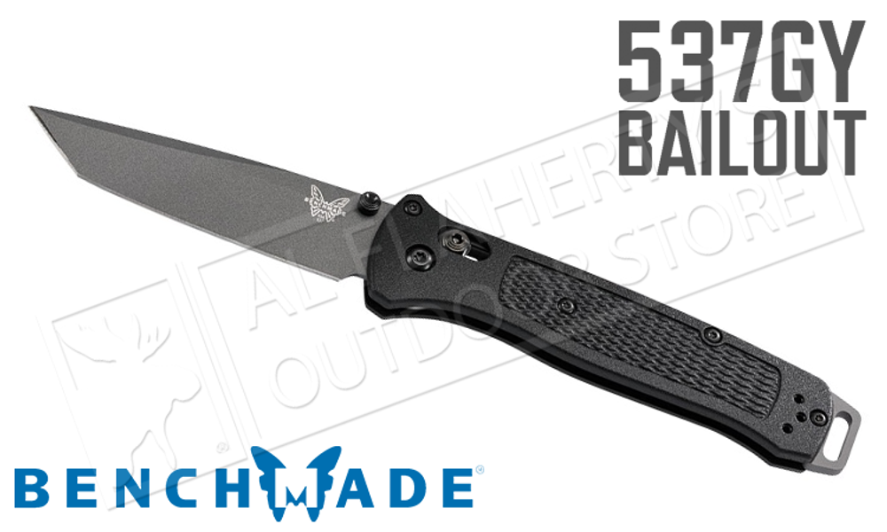 Benchmade Knife Bailout Axis Tanto #537GY