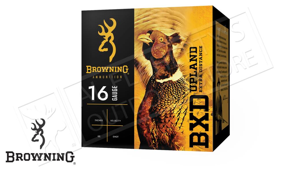 "Browning Ammo BXD Upland Shells 16 Gauge 2.75"" 1-1/8 oz Box of 25 #B19351162"