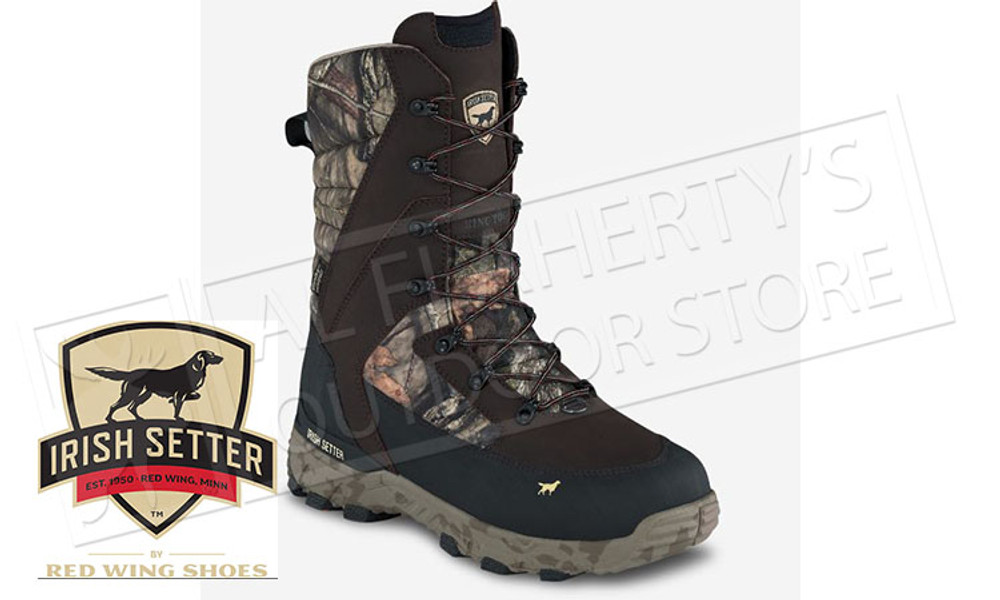 Irish Setter Ice Treck Hunting Boot 1600 G Mossy Oak Break-Up Country #3896