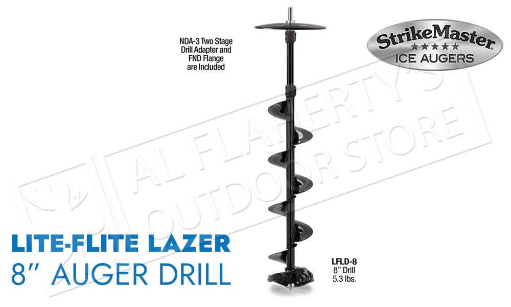 """Strike Master Lite-Flite Laser Drill Unit 8"""" #LFLD-8"""