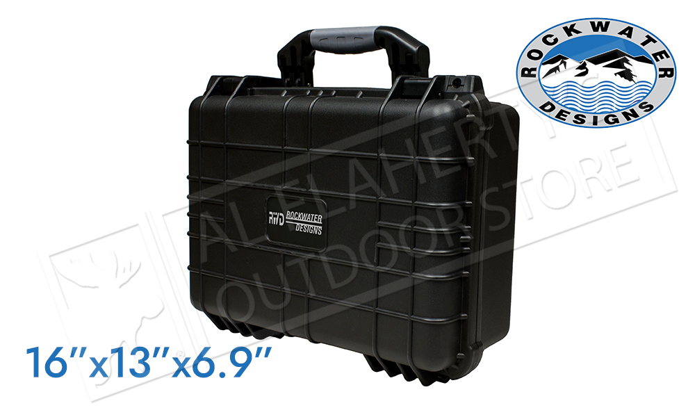 "Rockwater Design Handgun Case 16"" x 13"" x 6.9"" #75-044"