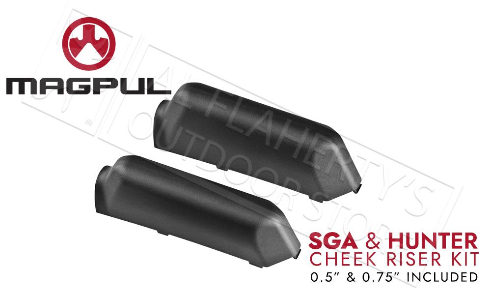 Magpul SGA Rifle and Shotgun Stock Cheek Riser Kit #MAG461-BLK