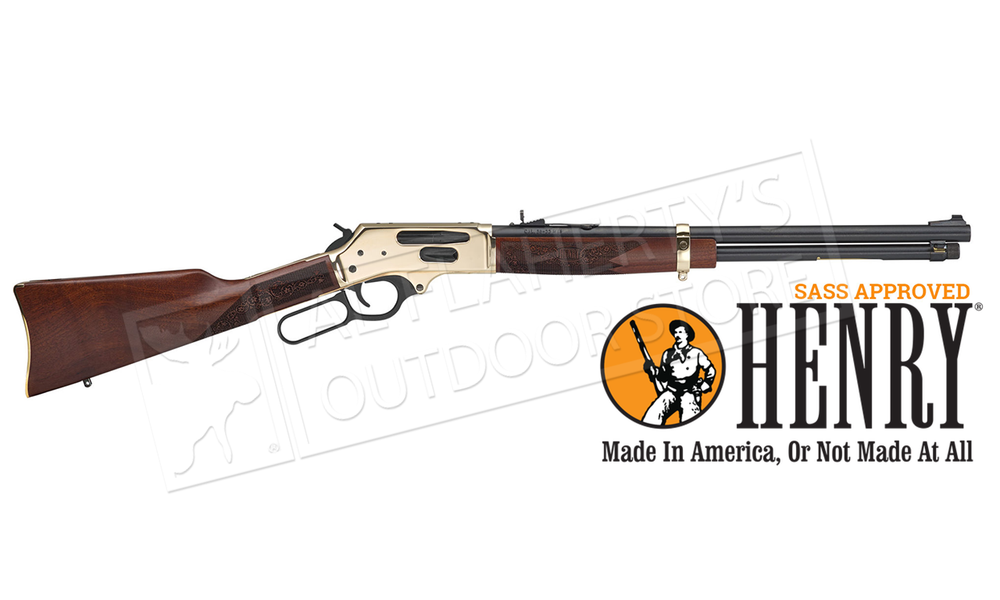 Henry Lever-Action 45-70 Rifle with Side Gate Loading #H024-4570