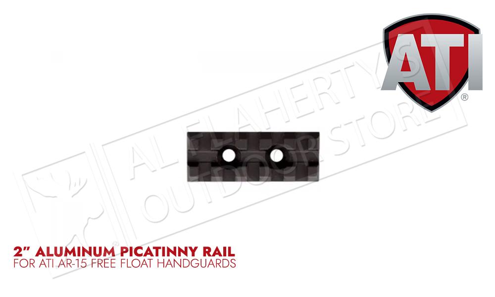 "ATI 2"" Aluminum AR-15 Forend Picatinny Rail #A.5.10.1320"