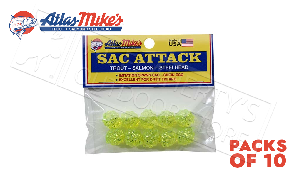Atlas Mike's Sac Attack - Packs of 10 Clusters #41