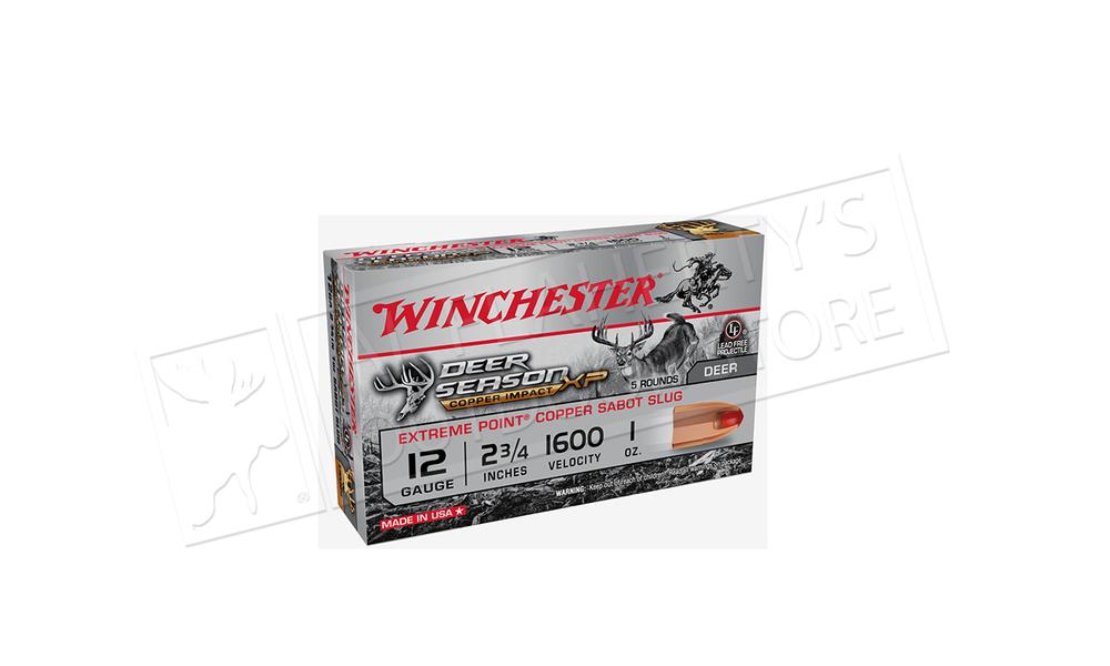 Winchester Deer Season Copper Sabot Slug #X12DSL