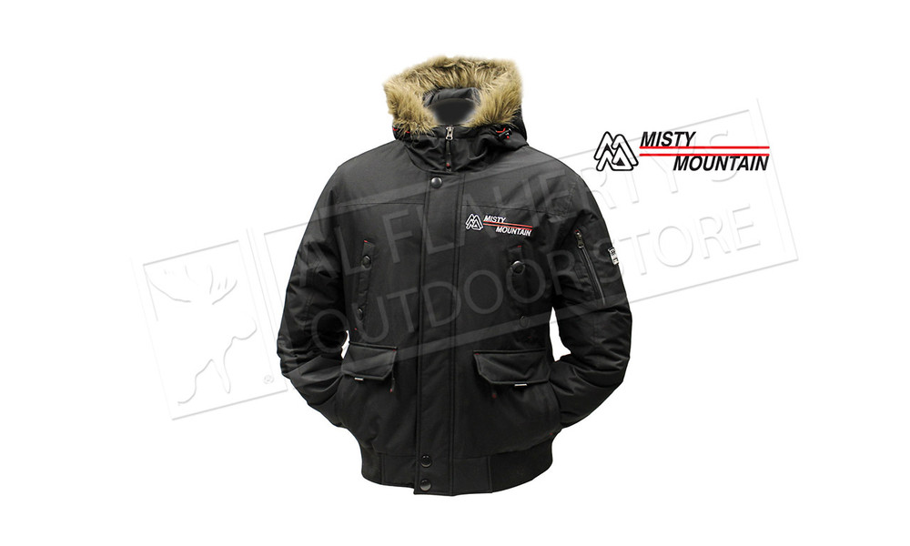 Misty Mountain Crossfire Insulated Bomber Jacket Medium to XX large #5656