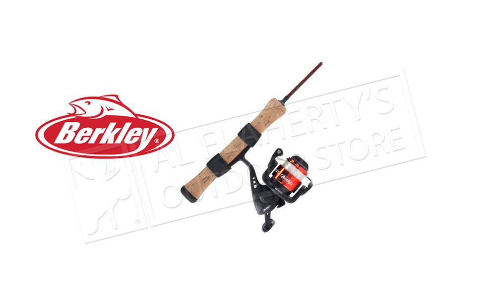 "Berkley Cherrywood HD Ice Fishing Combo, 26"", Light #CWIS26ML"