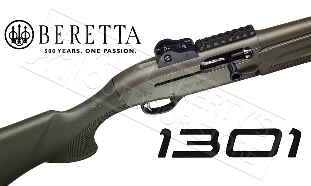 "Beretta Shotgun 1301 Tactical OD Green Semi-Automatic, 12 Gauge 18.5"" Barrel #7R3B64133CA11"