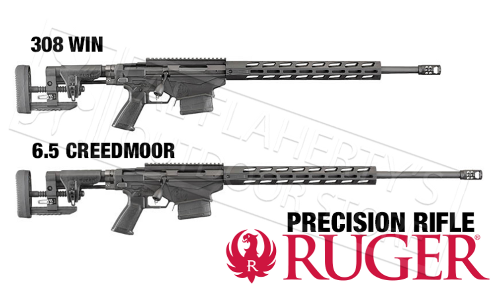 RUGER PRECISION RIFLE, BOLT-ACTION .308 OR 6.5 CREEDMOOR