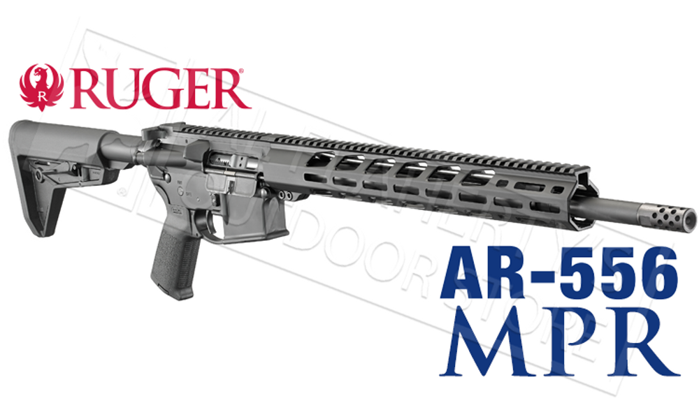 RUGER AR556 MPR RIFLE IN 5.56X45