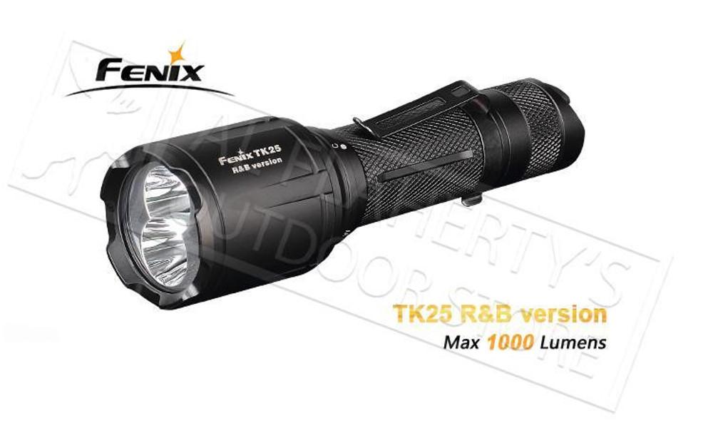 FENIX TK25 R&B MULTI-COLOR TACTICAL LED FLASHLIGHT