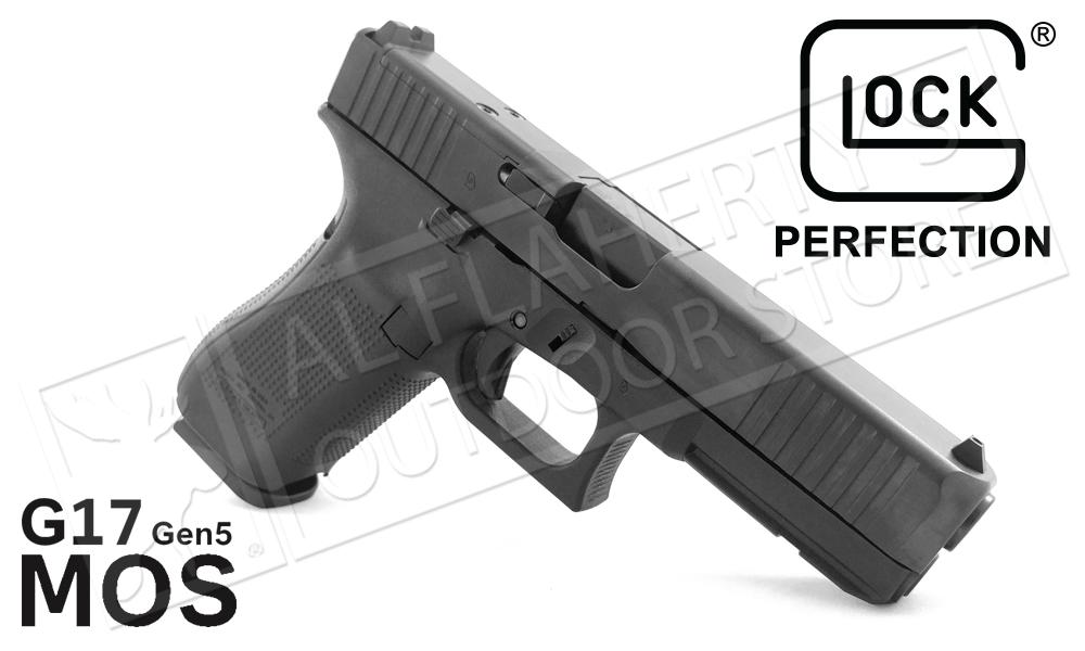 Glock 17 Gen 5 MOS Handgun with Fixed Sights