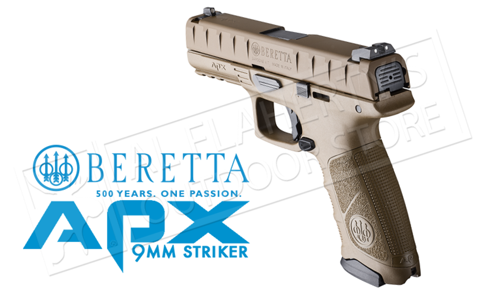 Beretta Handgun APX FDE 9mm #PW32121315341