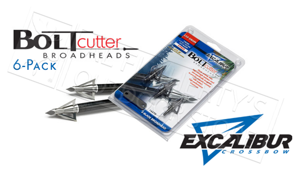 EXCALIBUR BOLTCUTTER BROADHEADS 6-PACK