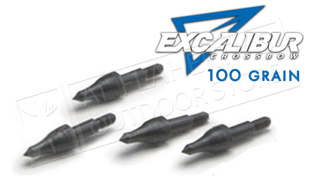 xcalibur Crossbow Field Points, 100 Grain Pack of 12 #TP100-12