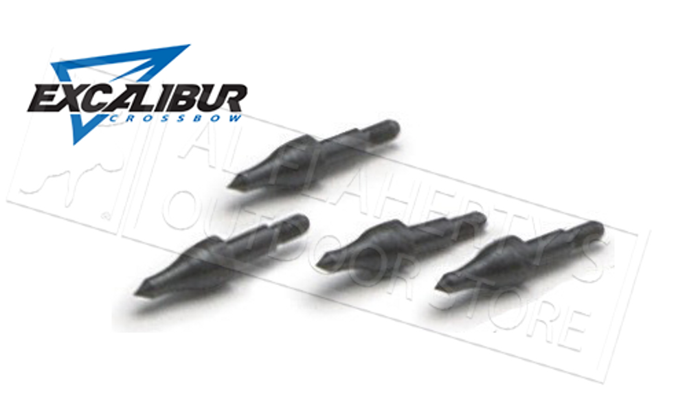 EXCALIBUR CROSSBOW FIELD POINTS 11/32, 150 GRAIN PACK OF 12