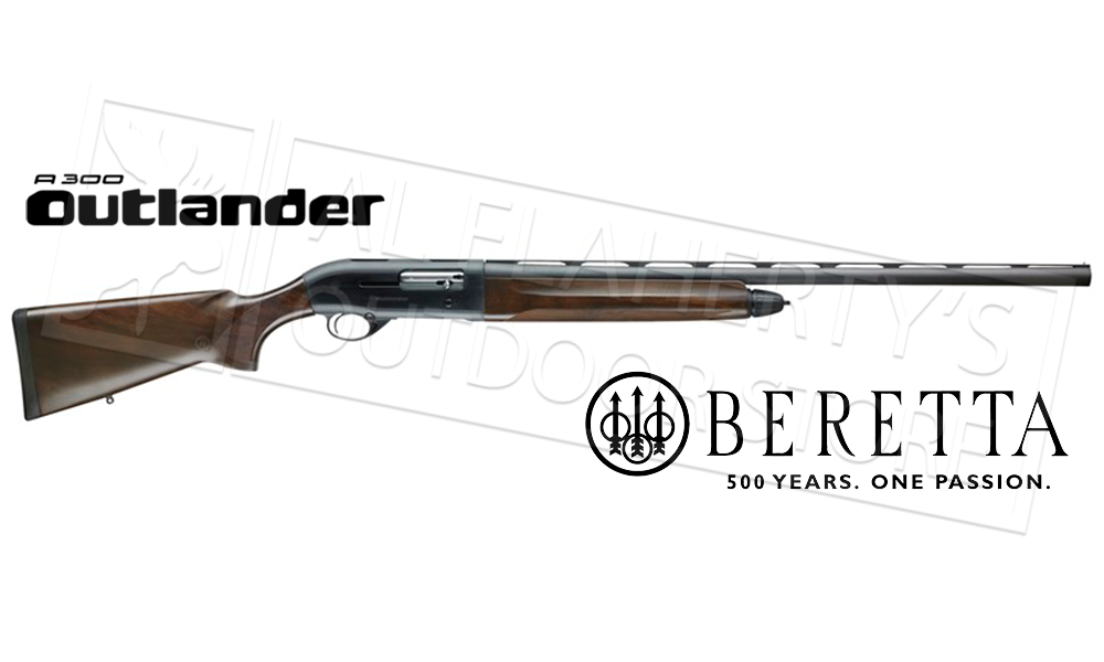 "Beretta Shotgun A300 Outlander 12 Gauge, 28"" Barrel, 3"" Chamber, Wood Stock #J3otc18"