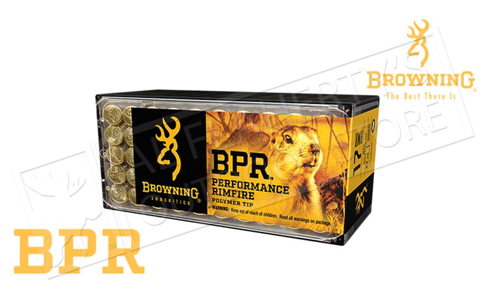 Browning Ammo 17HMR BPR Hunting Polymer Tipped 17 Grain Box of 50 #B195117050