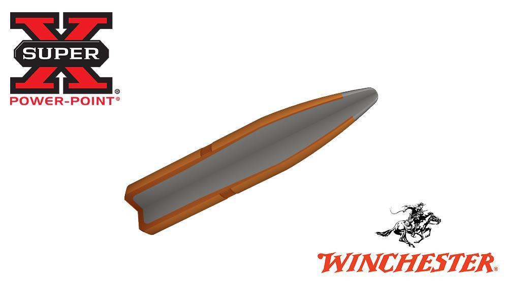WINCHESTER 6.5X55 SWEDISH SUPER X, SOFT POINT 140 GRAIN BOX OF 20