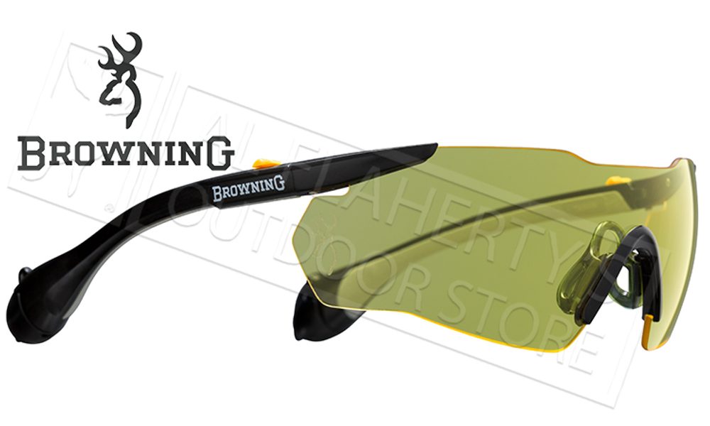 Browning Sound Shield Eye & Ear Protection Combo Yellow or Clear #1274