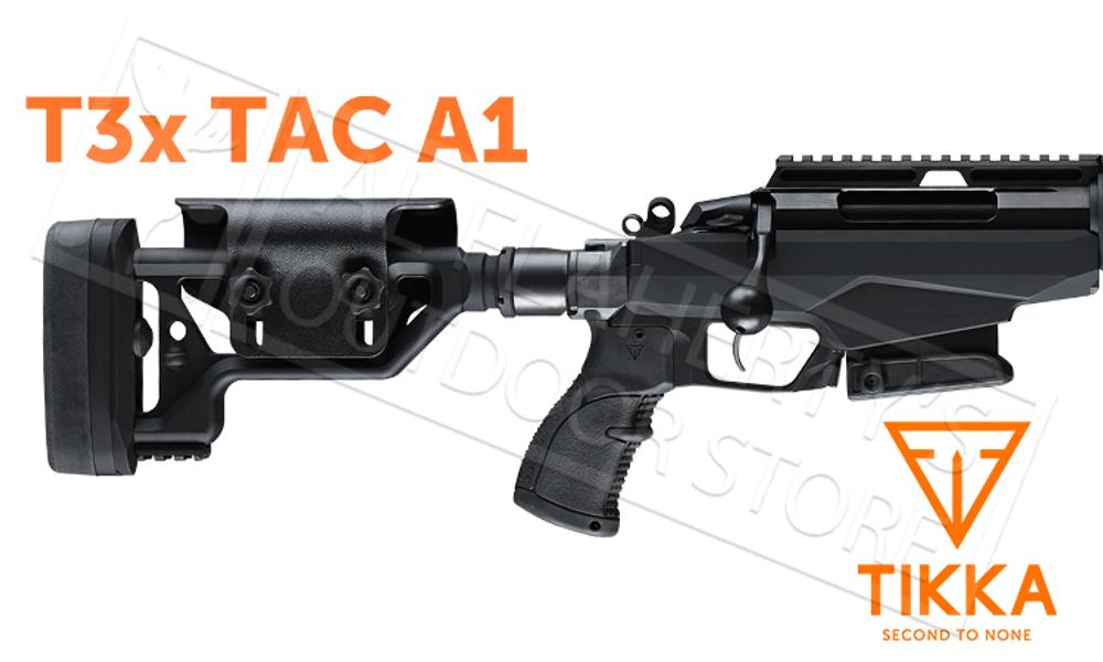Tikka T3x TAC A1 Rifle - Various Calibers