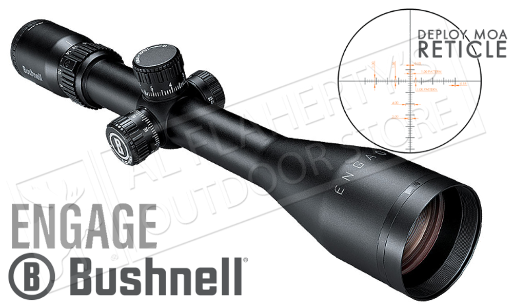 Bushnell Engage Scope 6-24x50mm with Deploy MOA Reticle #REN62450DG