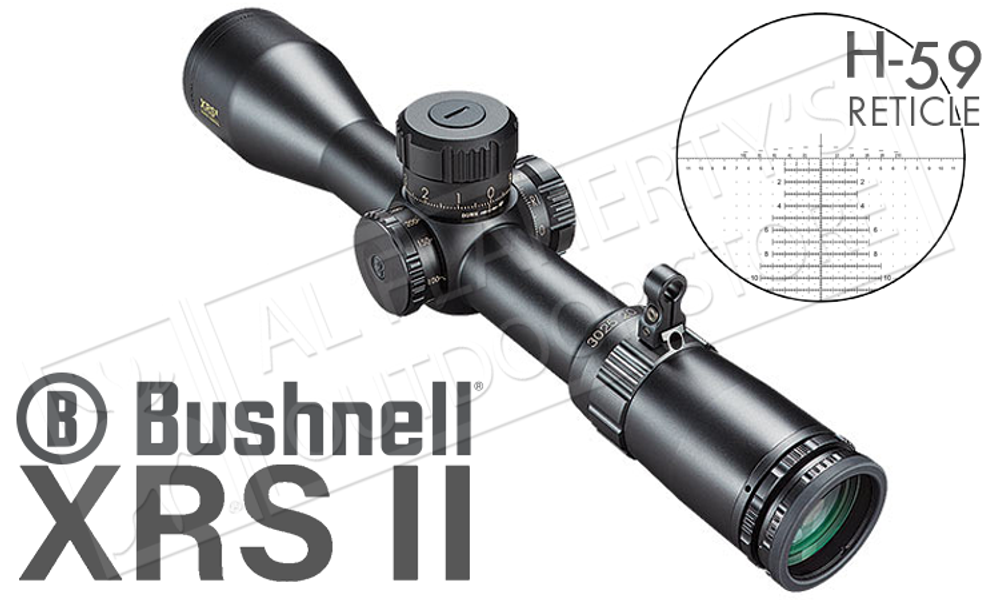 Bushnell XRS II Scope, 4.5-30x50mm with Horus H59 Reticle #ET46305Z
