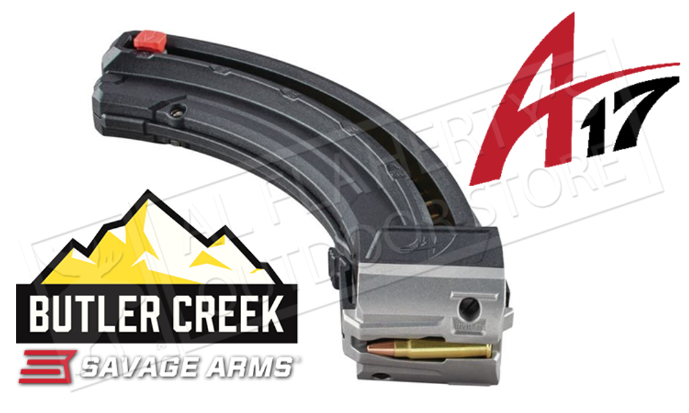 Butler Creek 25-Round Magazine for the Savage A17 Rifle #BCA1725