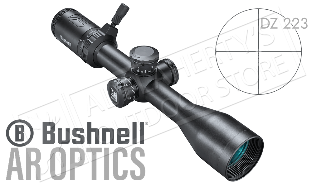 Bushnell AR Optics 3-9x40 Scope with DZ-223 Reticle, Parallax Adjustment, and PCL #AR73940