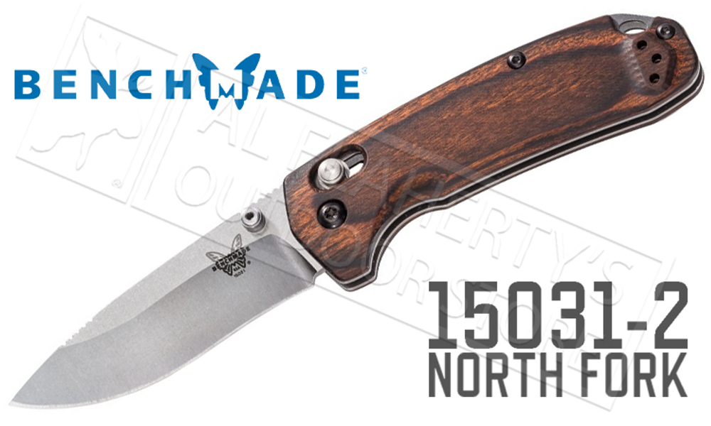BENCHMADE 15031-2 NORTH FORK AXIS FOLDING KNIFE