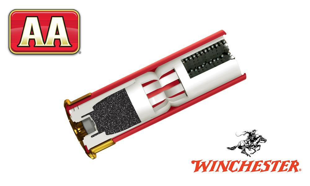 """(STORE PICKUP ONLY) 12 GAUGE - WINCHESTER AA, #8, 2-3/4"""", 1-1/8 OZ., CASE OF 250"""