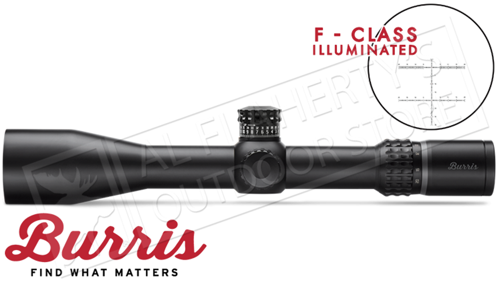 Burris XTR II Scope for F-Class Competition 8-40x50mm with Illuminated F-Class MOA Reticle #201080