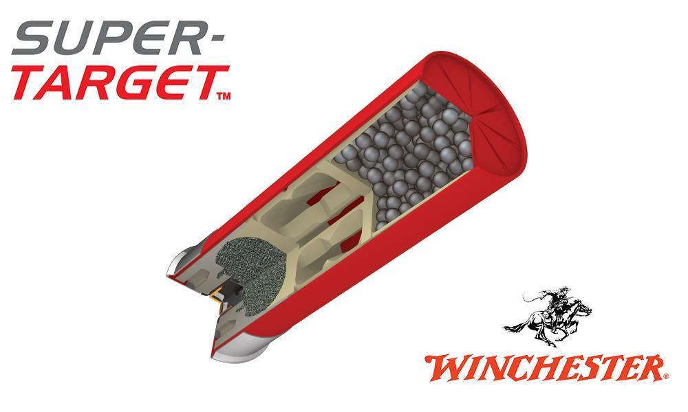 "(Store Pick up Only) Winchester Super-Target 12 Gauge #8, 2-3/4"", 1-1/8 oz. 3 Dram, Case of 250 #TRGT12M8 - Case"